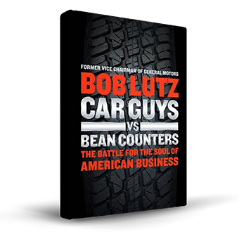 Car Guys VS Bean Counters Book Cover